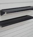 Slatwall Metal Ledge Shelf
