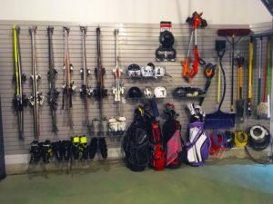 Sports Equipment Garage Storage