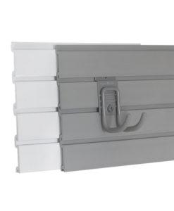 8' basic duty slatwall panel