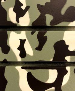 8 Foot Standard Duty Slatwall Panel Camouflage