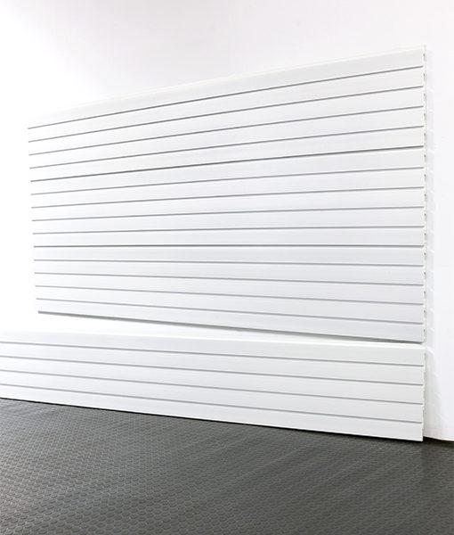 "StoreWALL Slatwall Heady Duty Brite White Panel 15"" x 96"""
