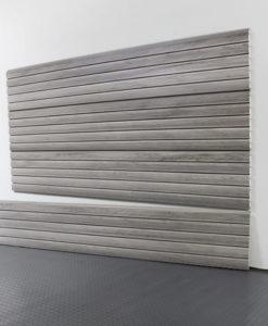 StoreWALL Slatwall Heady Duty Barn Wood Grey Panel 15