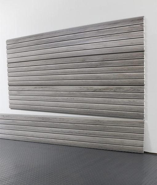 """StoreWALL Slatwall Heady Duty Barn Wood Grey Panel 15"""" x 96"""""""