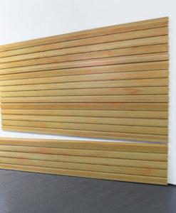 "StoreWALL Slatwall Heady Duty Global Pine Panel 15"" x 96"""