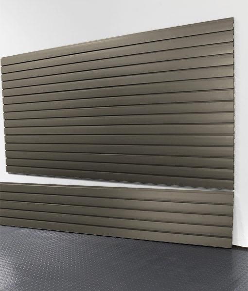 "StoreWALL Slatwall Heady Duty Graphite Steel Panel 15"" x 96"""