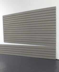 StoreWALL Slatwall Heavy Duty Weathered Grey Panel 15