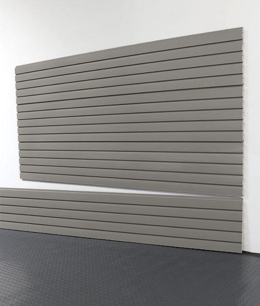 "StoreWALL Slatwall Heavy Duty Weathered Grey Panel 15"" x 96"""