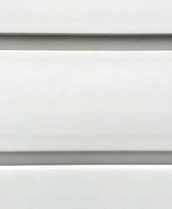 88 Foot Standard Duty Slatwall Panel Brite White