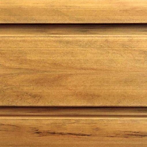 Rustic Cedar standard duty slatwall panel from Storewall