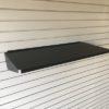 Large Metal Slatwall Shelf