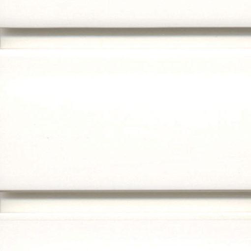 "StoreWALL heavy duty slatwall brite white panel 15"" x 96"""
