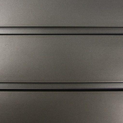 """StoreWALL heavy duty slatwall graphite steel panel 15"""" x 96"""""""