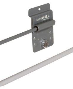 Storewall slatwall paper towel holder