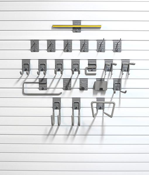 Storewall slatwall premium hook kit