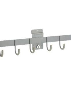 Storewall Slatwall six prong hook