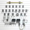 Deluxe Slatwall hook kit